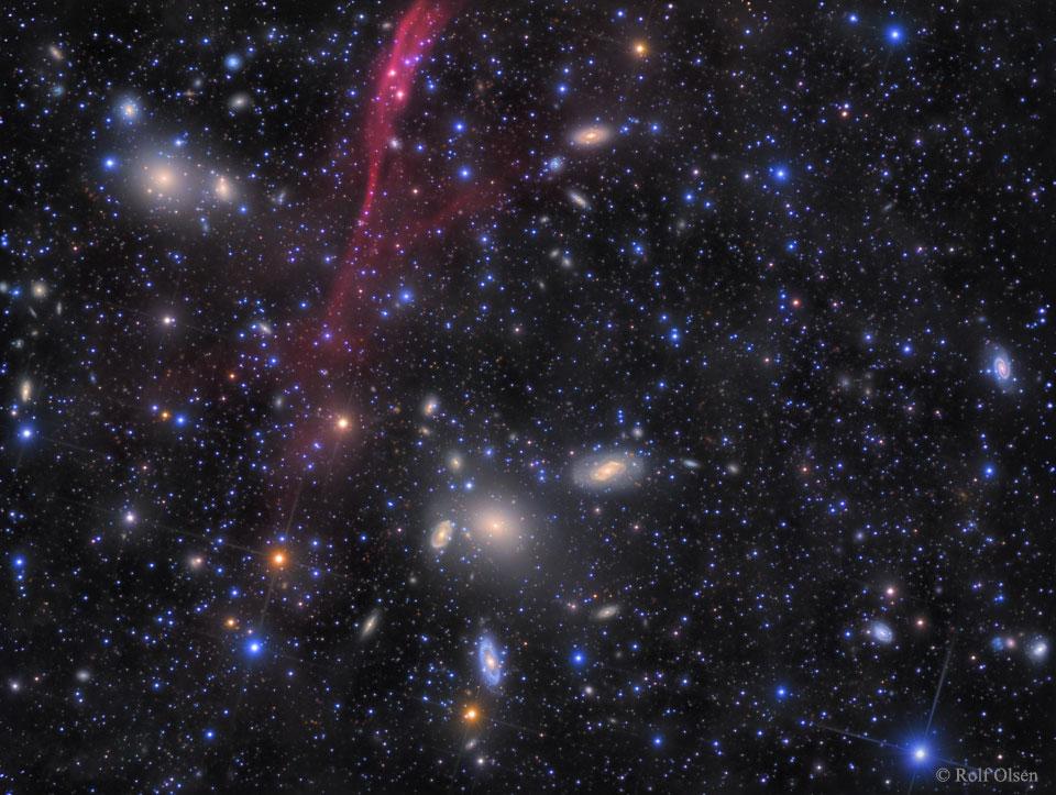 L\'amas de galaxies d\'Antlia