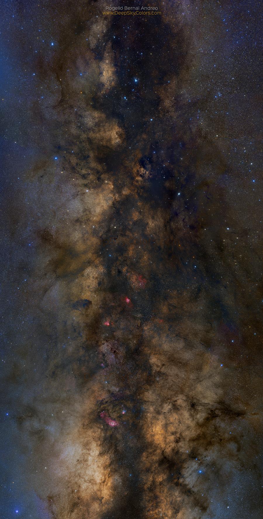 Le Grand Rift de la Voie lactée