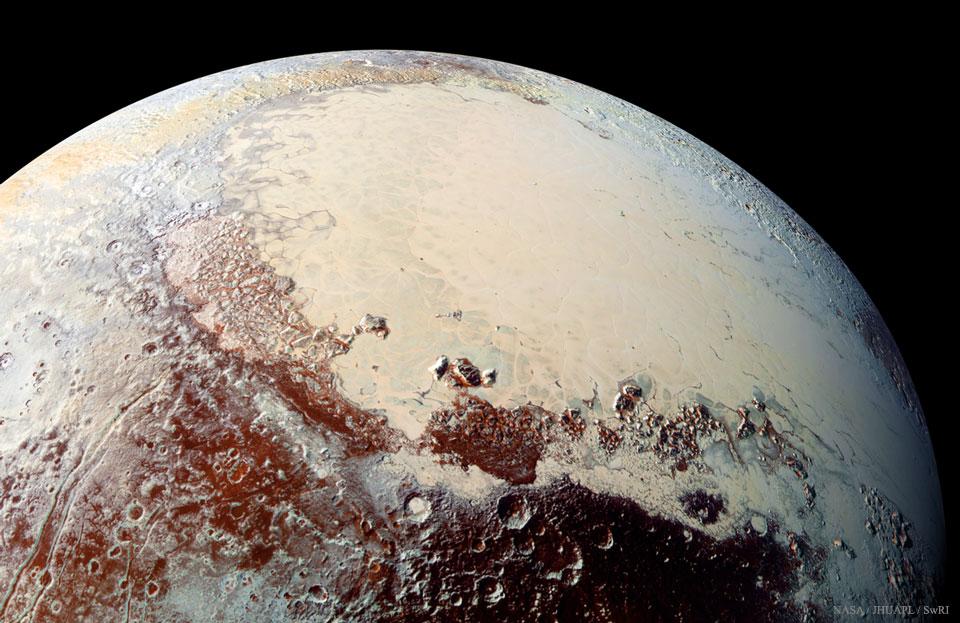 La plaine Spoutnik de Pluton