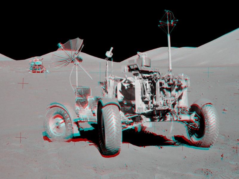 Le carré VIP d\'Apollo 17 en 3D