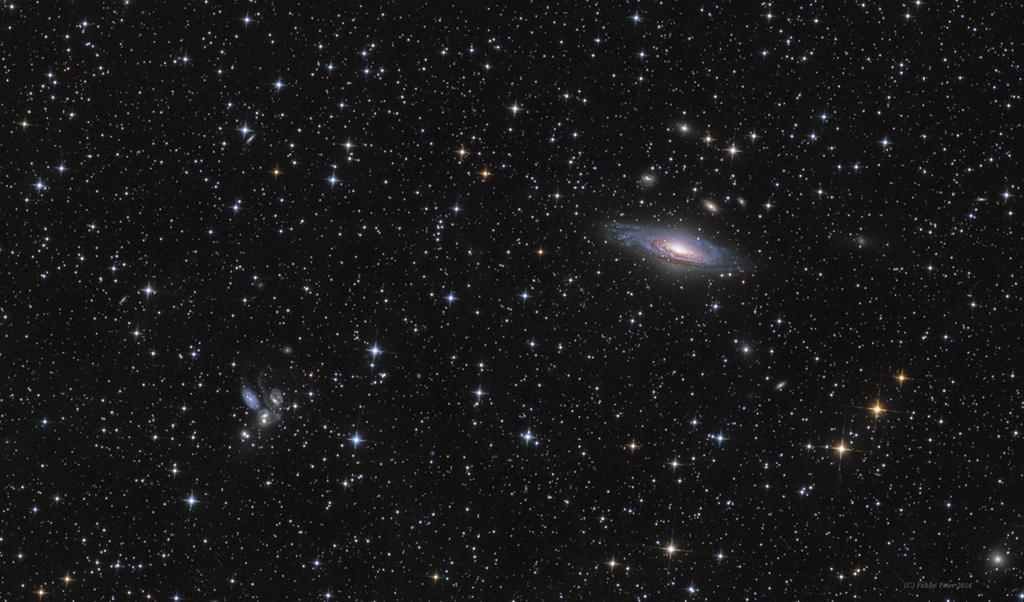 Les galaxies de Pégase