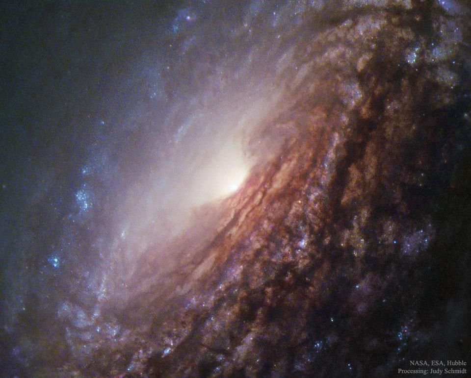 Au coeur de la galaxie spirale NGC 5033