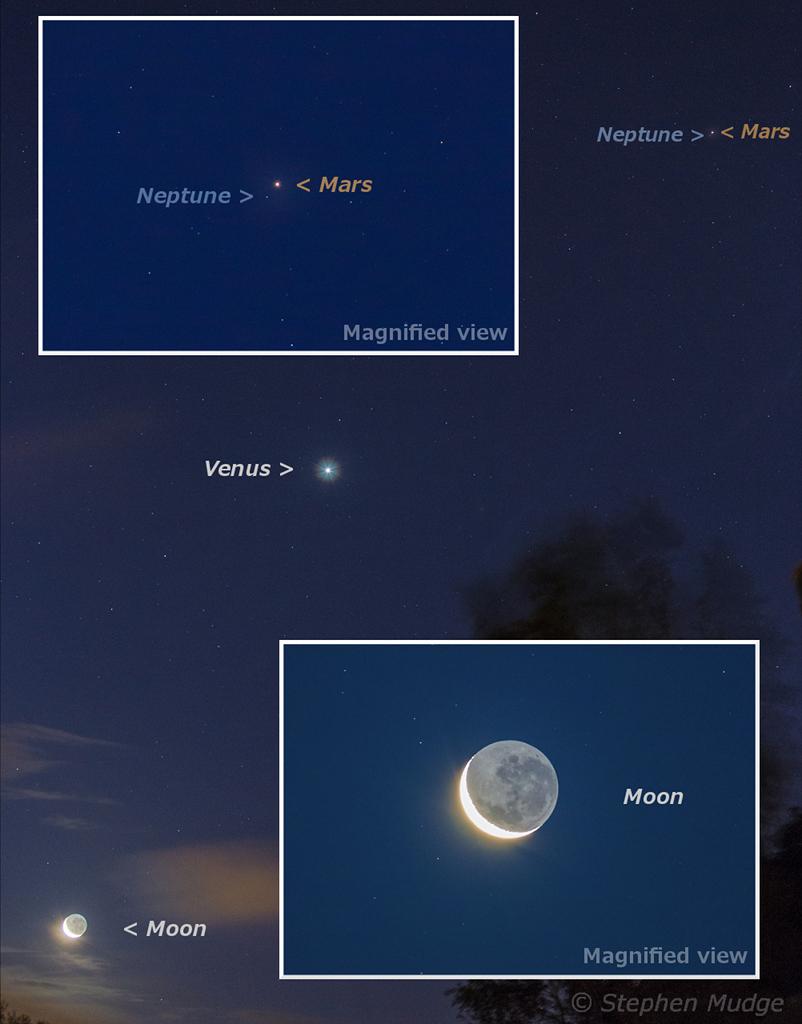Quand Mars rencontre Neptune