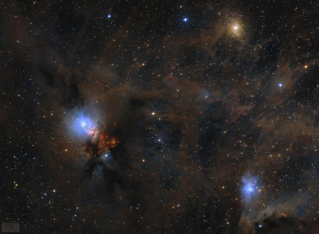 Poussières d\'étoiles dans Persée