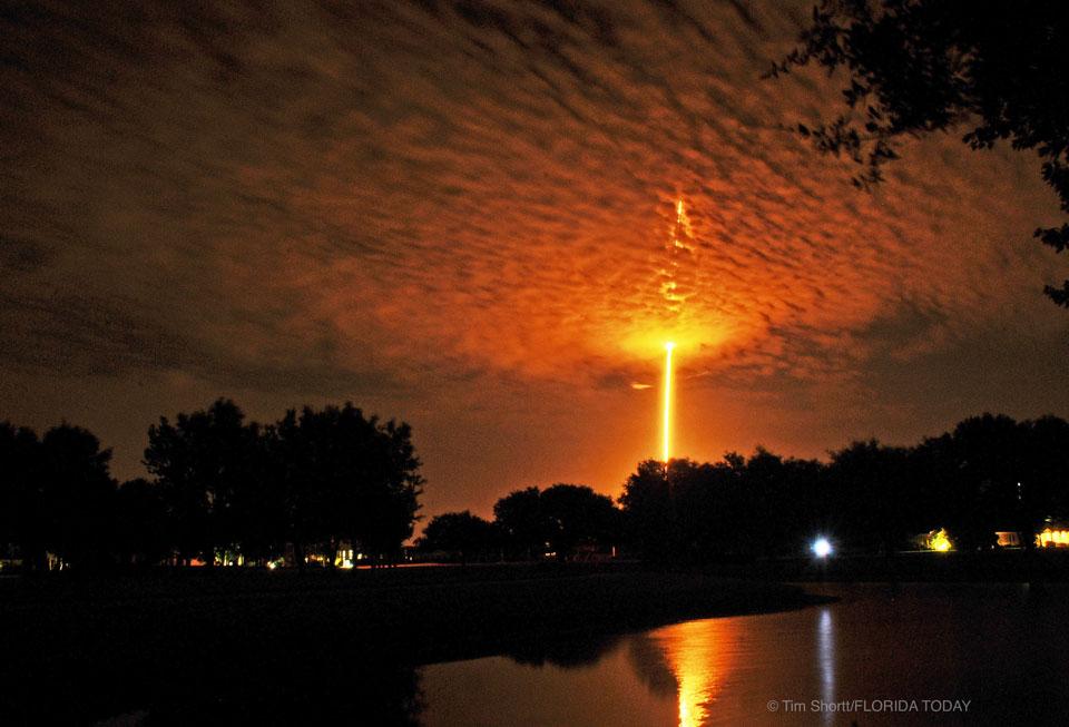 Falcon 9 en route pour l\'orbite terrestre