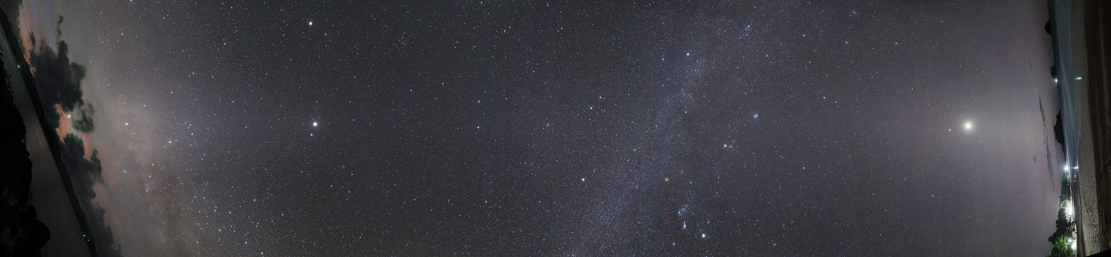 Panorama de toutes les planètes