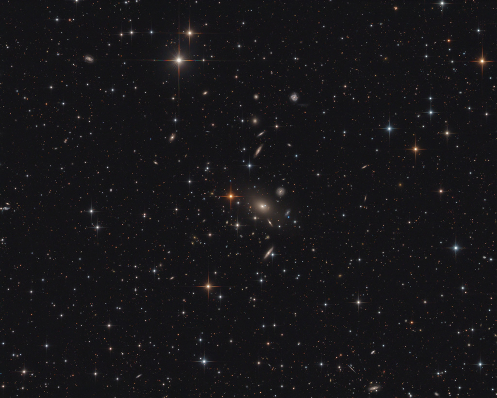 L\'amas de galaxies Abell 2666