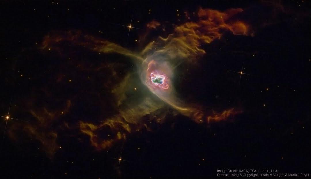 La nébuleuse planétaire de l\'Araignée rouge