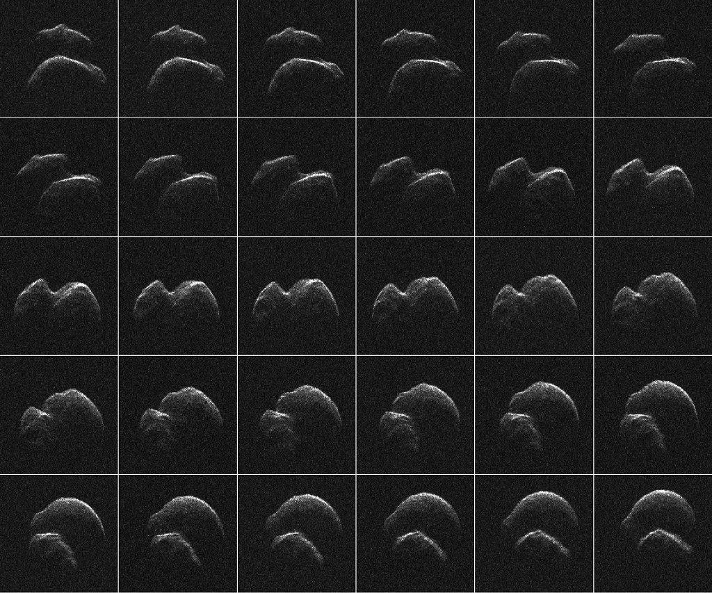 Premières images de l\'astéroïde 2014 JO25