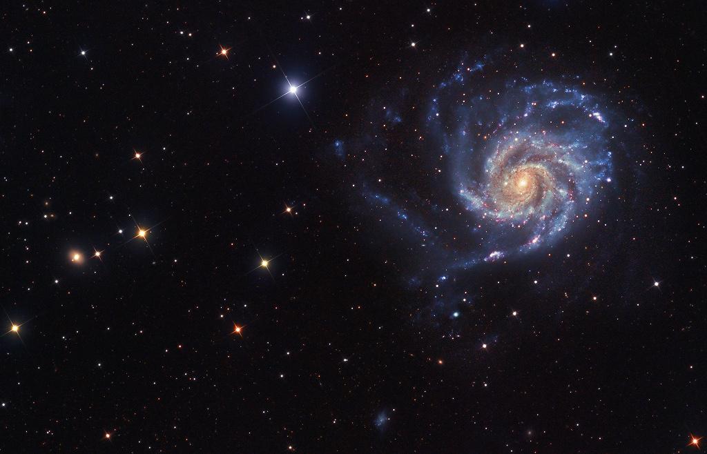 La vue vers M101
