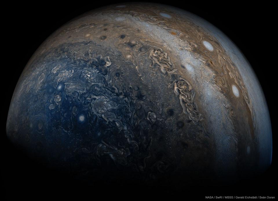 Les dessous de Jupiter