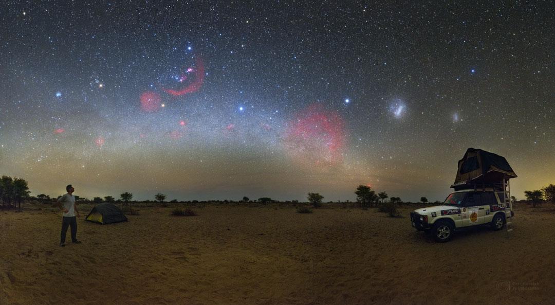 Le ciel du Kalahari