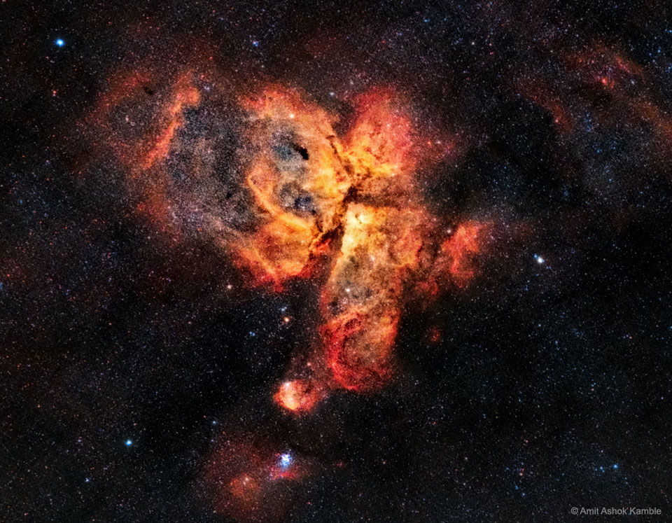 La grande nébuleuse de la Carène
