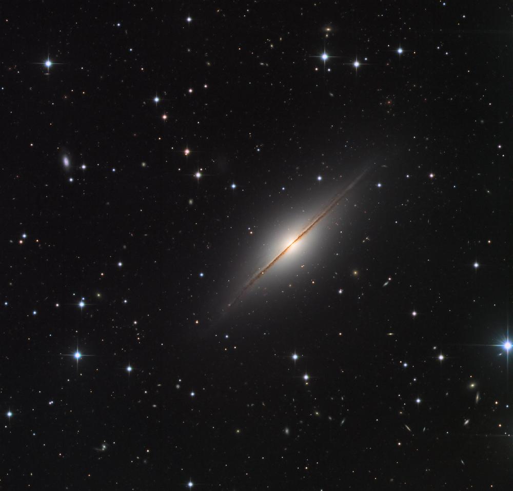 NGC 7814, le Petit Sombrero dans Pégase