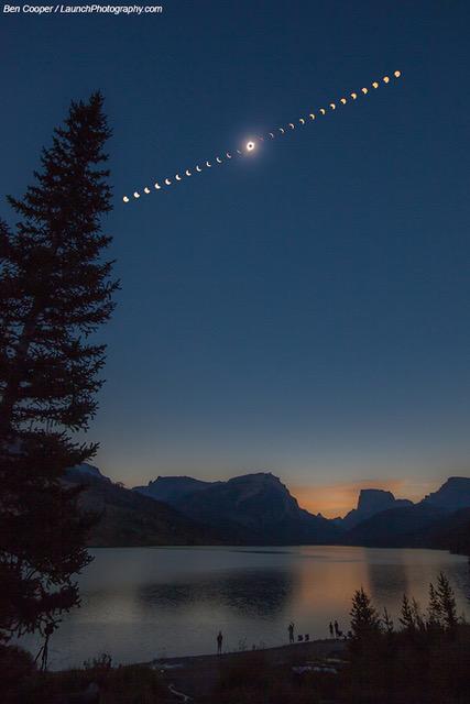 Eclipse totale sur le Wyoming