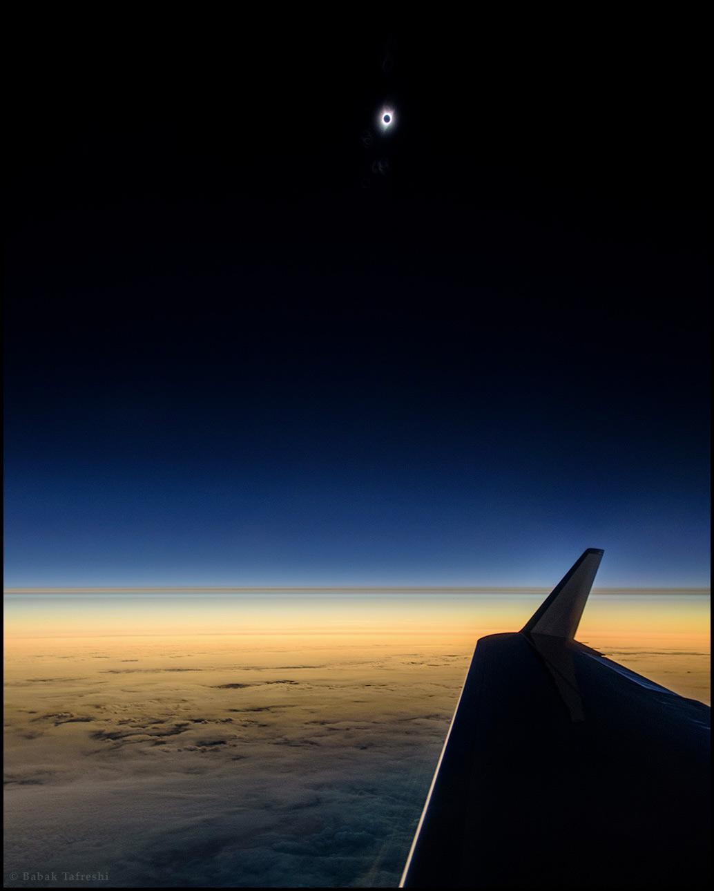 Petit aperçu de la grande éclipse américaine