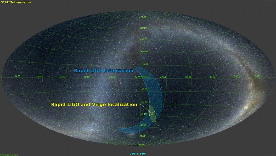 Nouvelle détection d\'ondes gravitationnelles