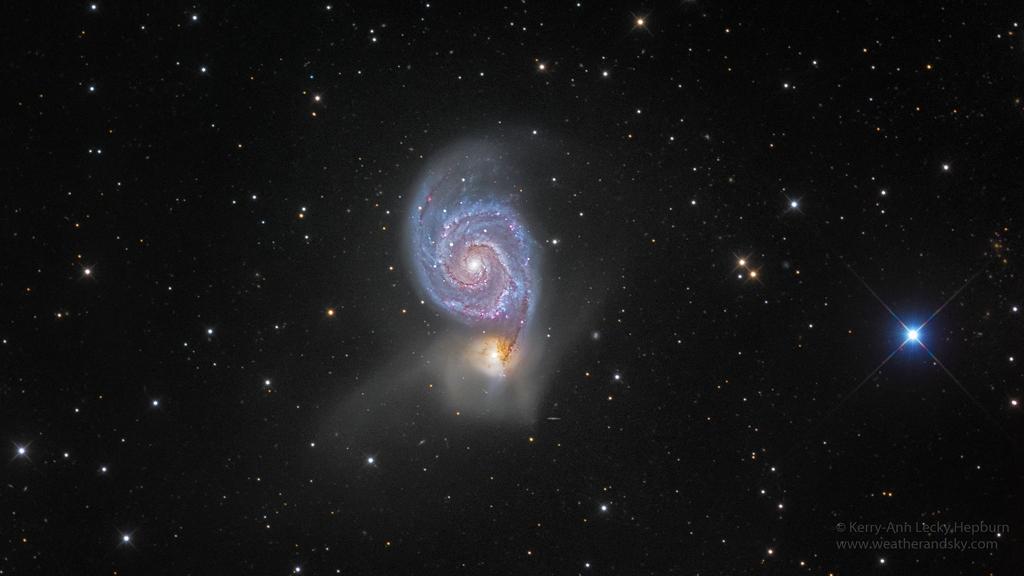 M51, la galaxie du Tourbillon