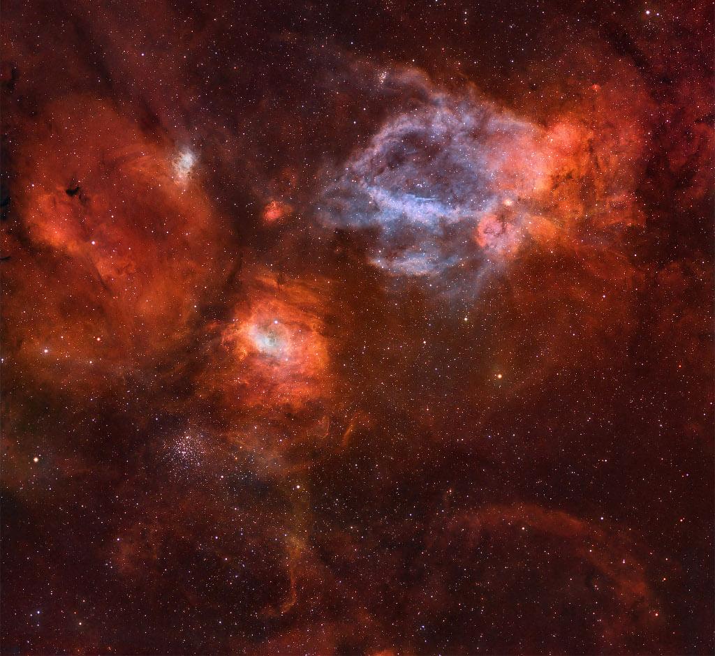 NGC 7635, une bulle dans l\'océan cosmique