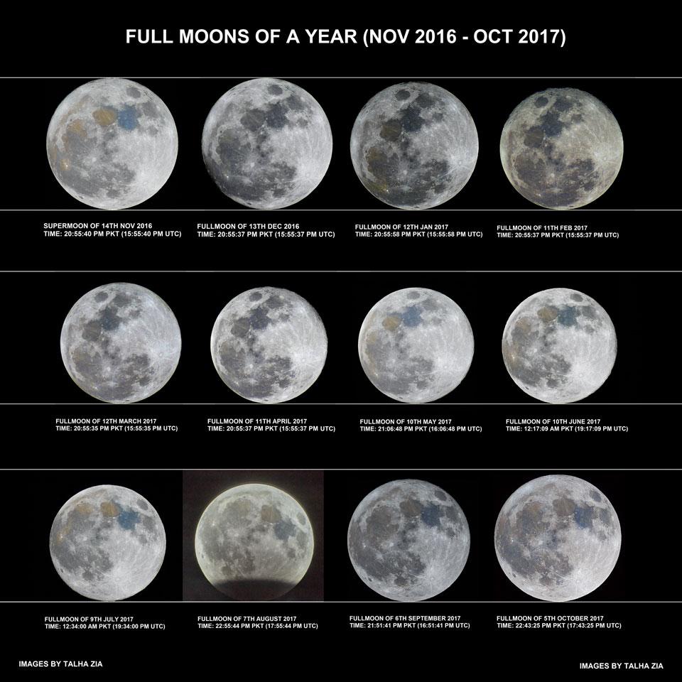Une année de pleines lunes
