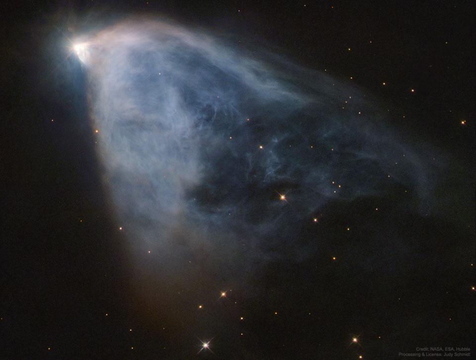 La nébuleuse variable d\'Hubble