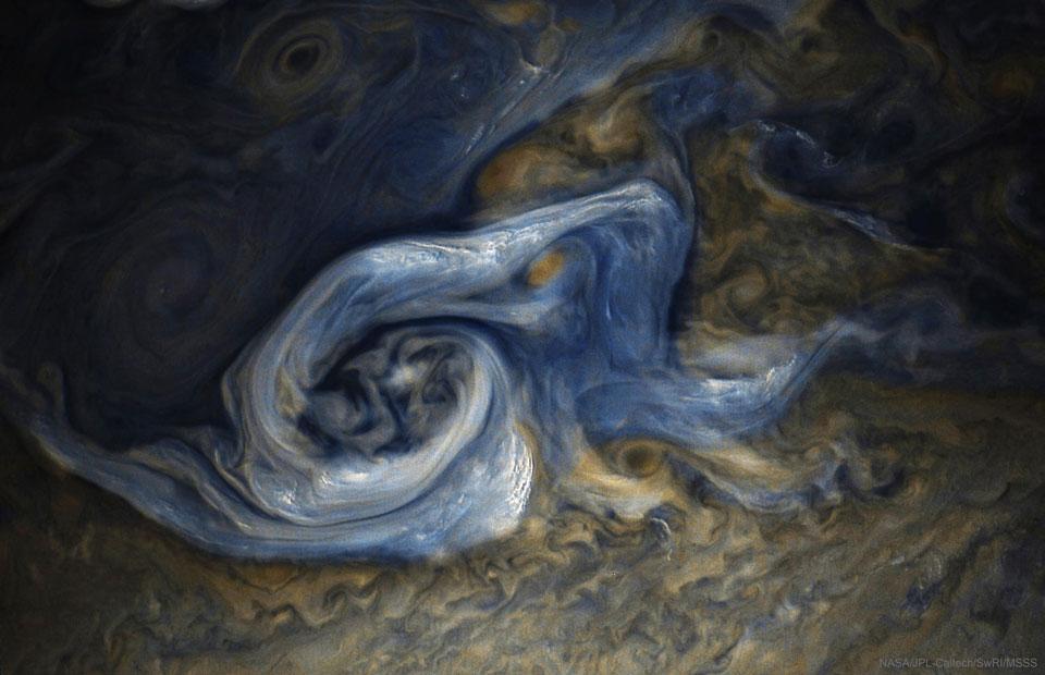 Perturbation sur Jupiter