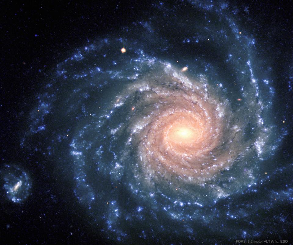 La grande galaxie spirale NGC 1232