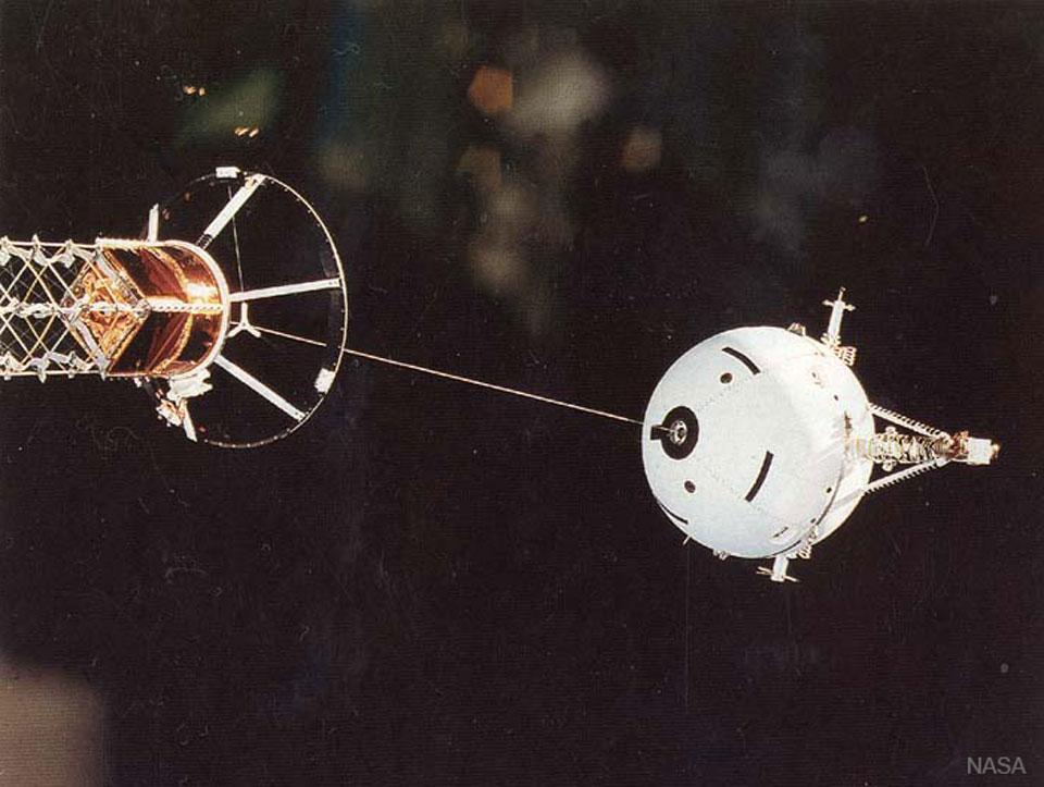 Dérouler du câble dans l\'espace est un sport de combat