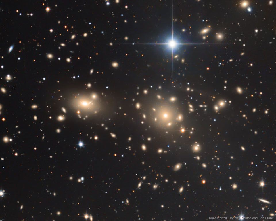 L\'amas de galaxies de la Chevelure de Bérénice