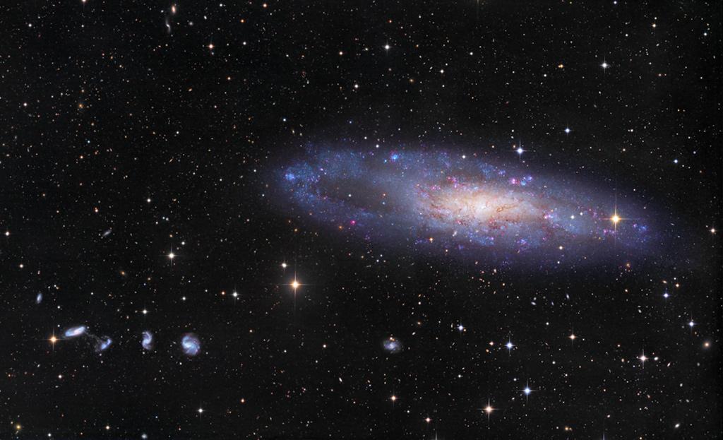 La galaxie du Chas de l\'Aiguille