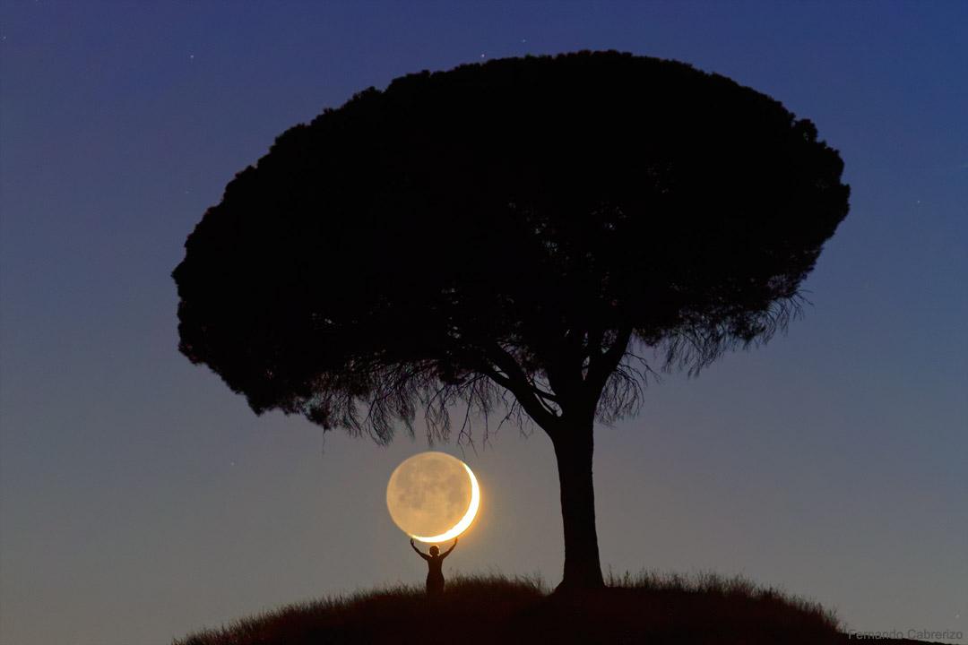 Je t\'ai apporté la Lune