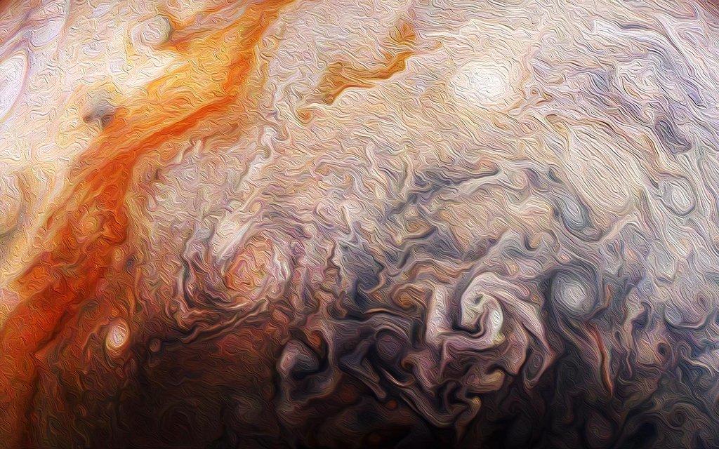 Peindre avec Jupiter
