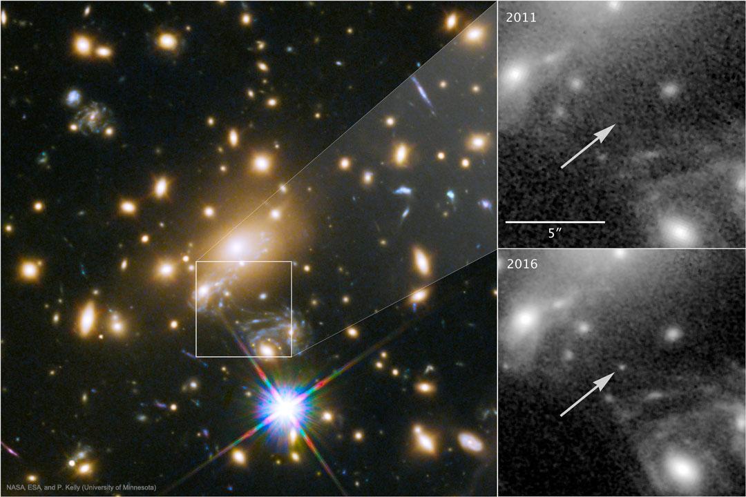La plus lointaine étoile jamais observée ?