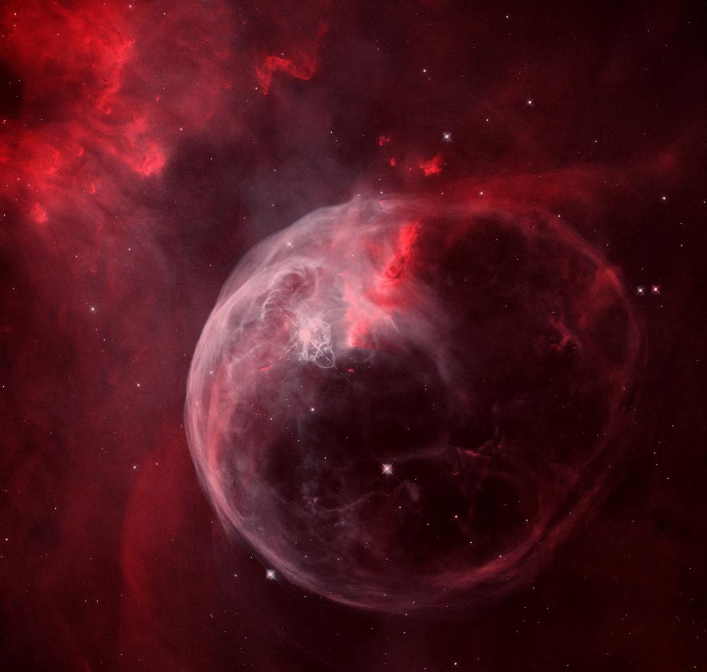 NGC 7635, la nébuleuse de la Bulle