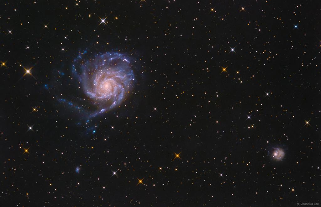 Du côté de M101