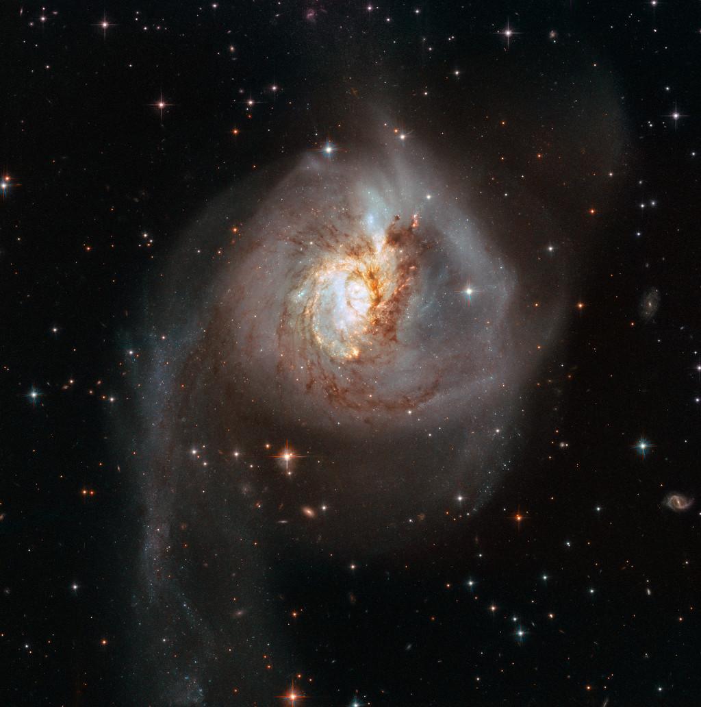 Le choc de NGC 3256