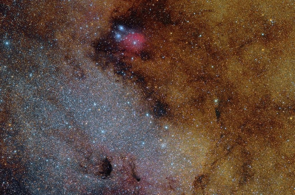 Messier 24, nuage d\'étoiles du Sagittaire