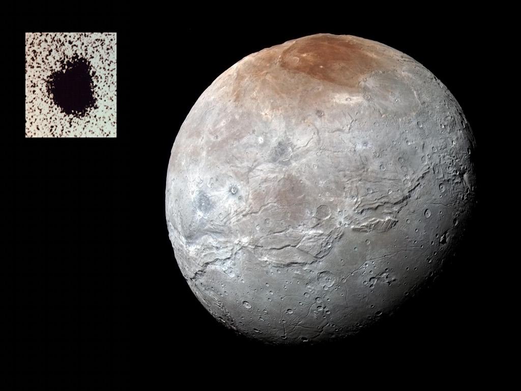 Charon, lune de Pluton