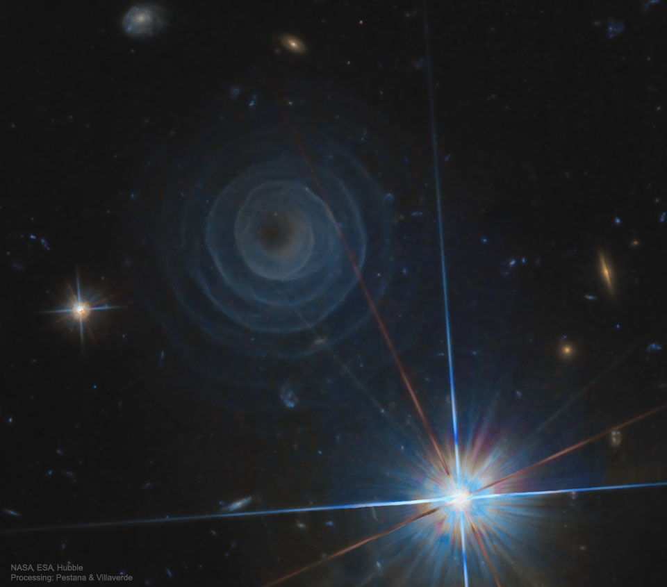 L\'extraordinaire spirale de LL Pegasi