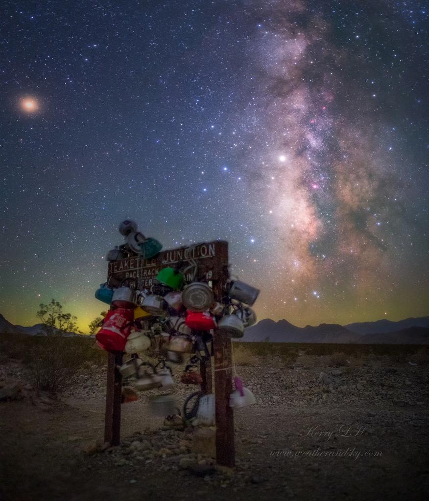 La Théière et la Voie Lactée