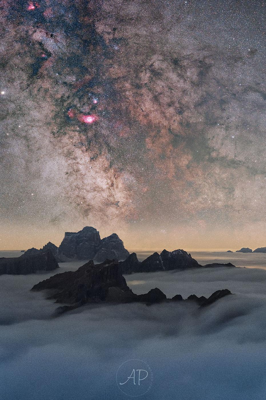 Nuages de la Terre et de l\'espace