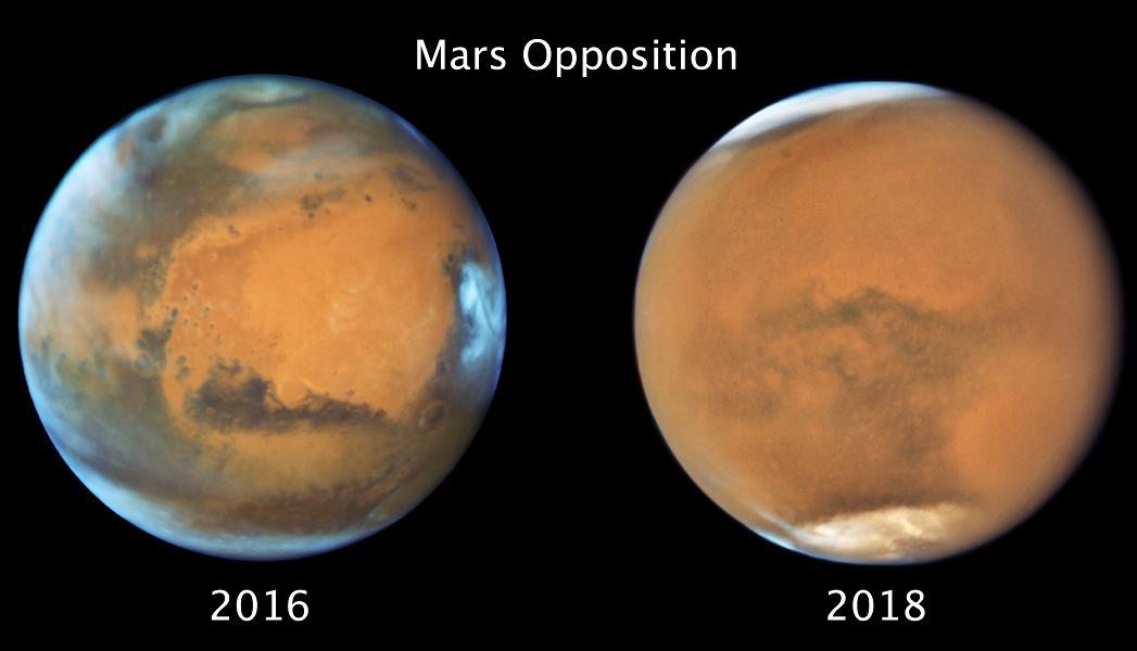 Mars à l\'opposition