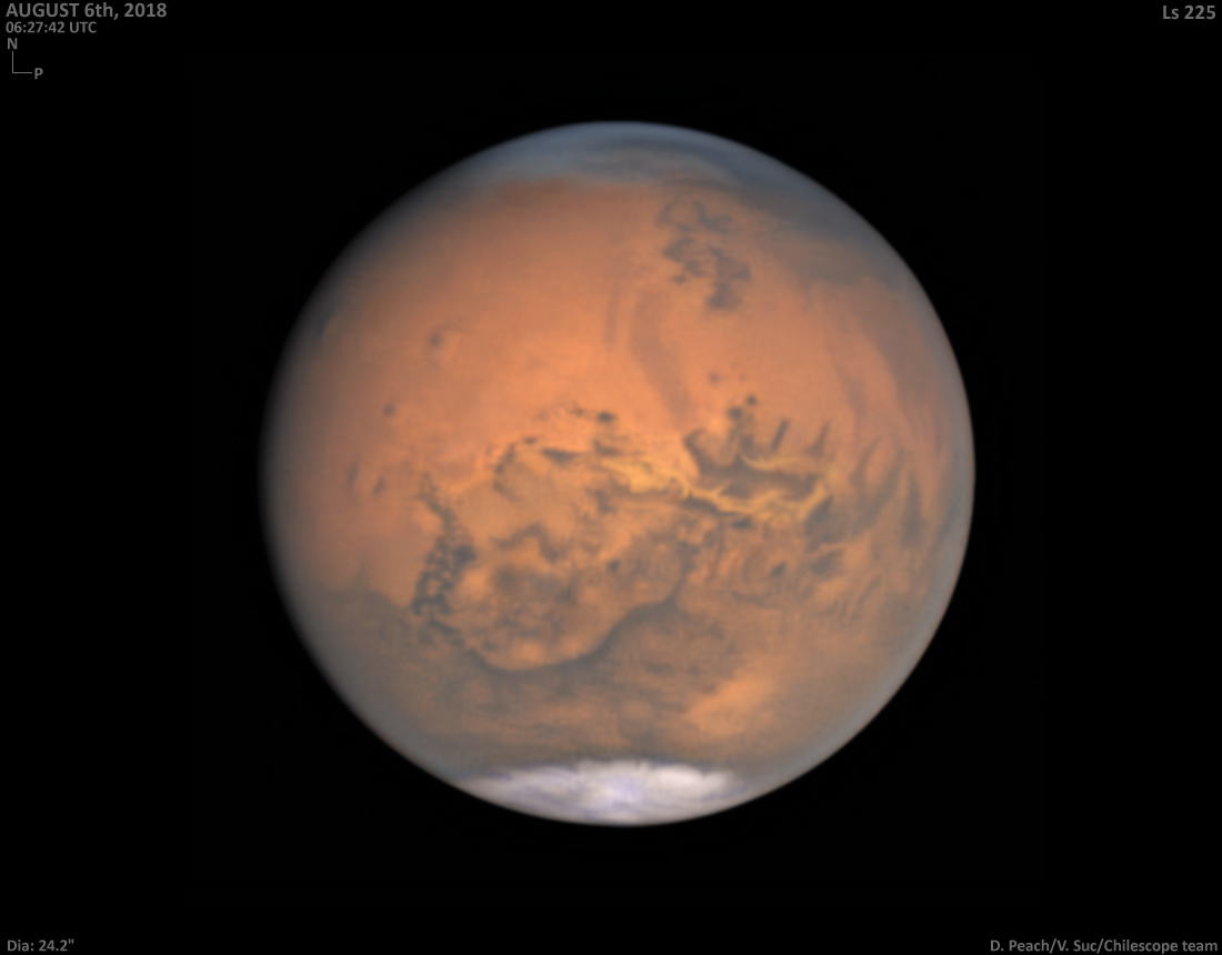 Mars au plus proche