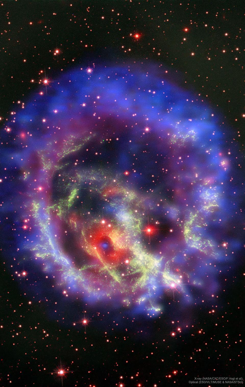 L\'étoile à neutrons isolée dans le rémanent de supernova E0102-72.3