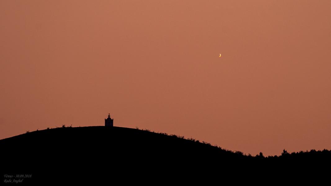 Les derniers jours de Vénus en étoile vespérale