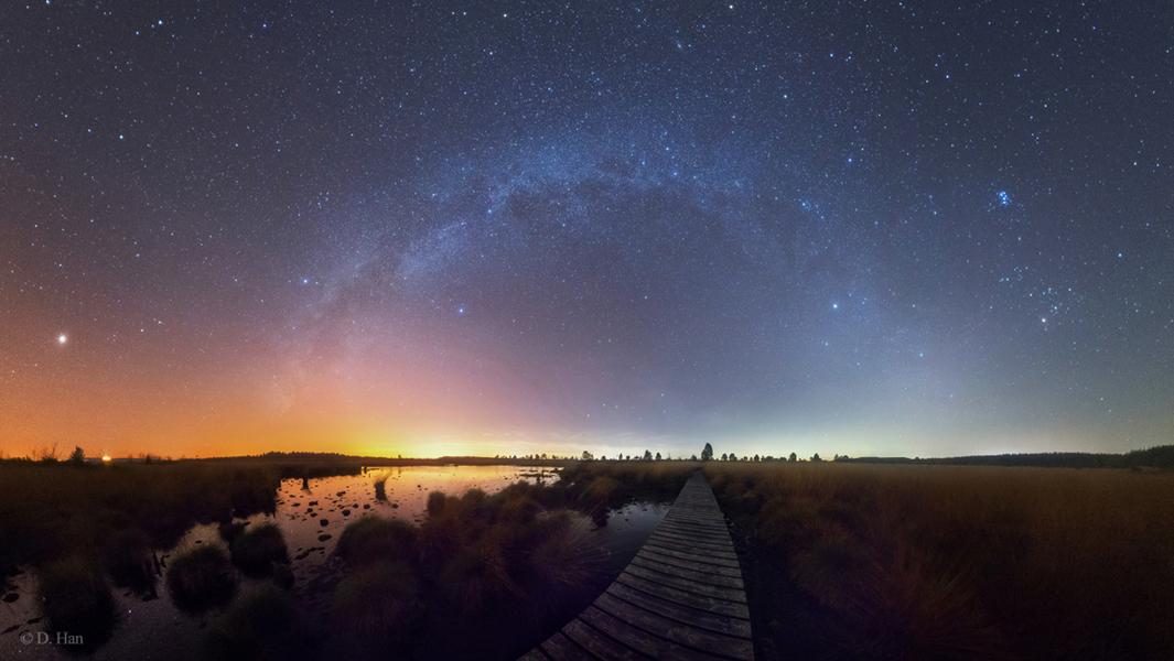 La Voie Lactée, de l\'été à l\'hiver