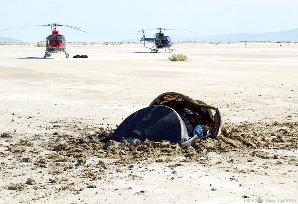 L\'atterrissage d\'une soucoupe volante dans le désert de l\'Utah
