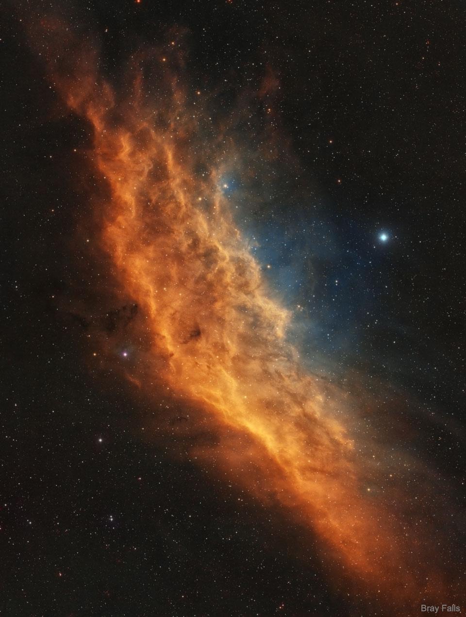 NGC 1499: la nébuleuse de Californie