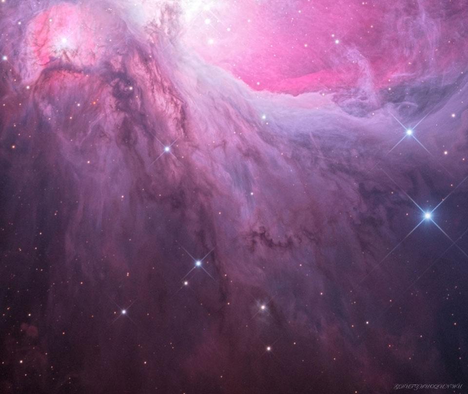 M43, la cascade d\'Orion