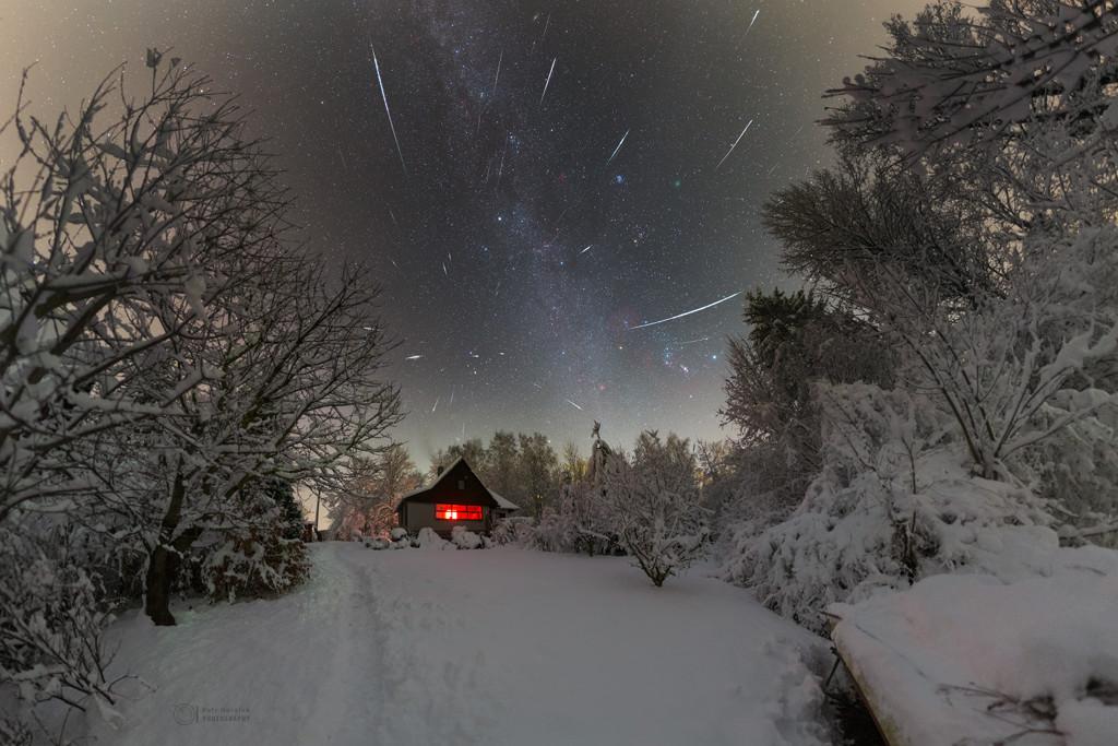 Par une froide nuit de décembre...